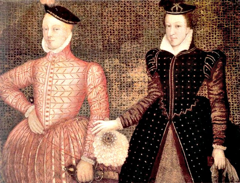 Retrato de María Estuardo y su segundo marido Lord Darnley (autor desconocido). (Public Domain)