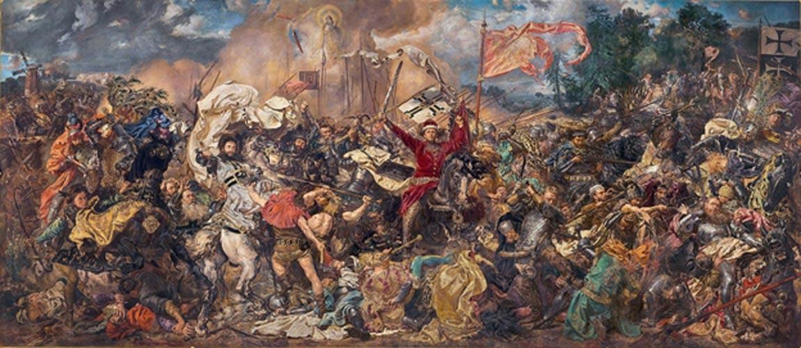 La Batalla de Grunwald, óleo de Jan Matejko (1878). (Public Domain)
