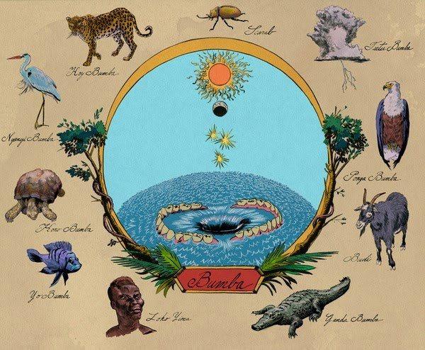 Mbombo o Bumba, mito africano de la creación del universo.