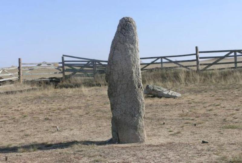 Menhir en Akhunovo. (Imagen: Código Oculto).