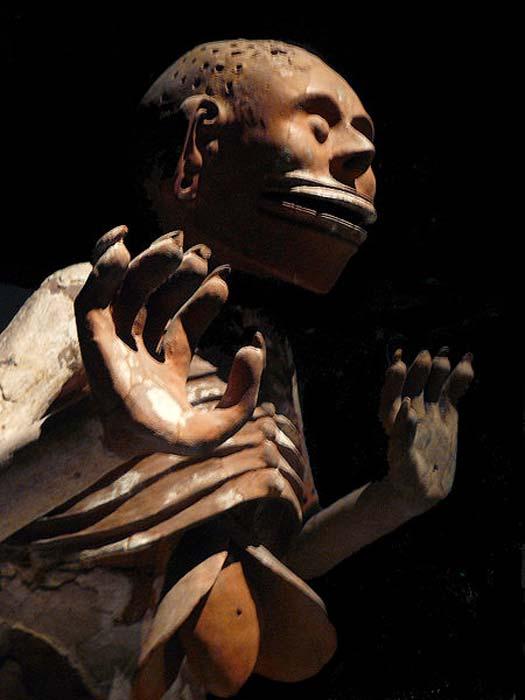 Mictlantecuhtli, dios azteca masculino de la muerte (CC BY-SA 3.0)