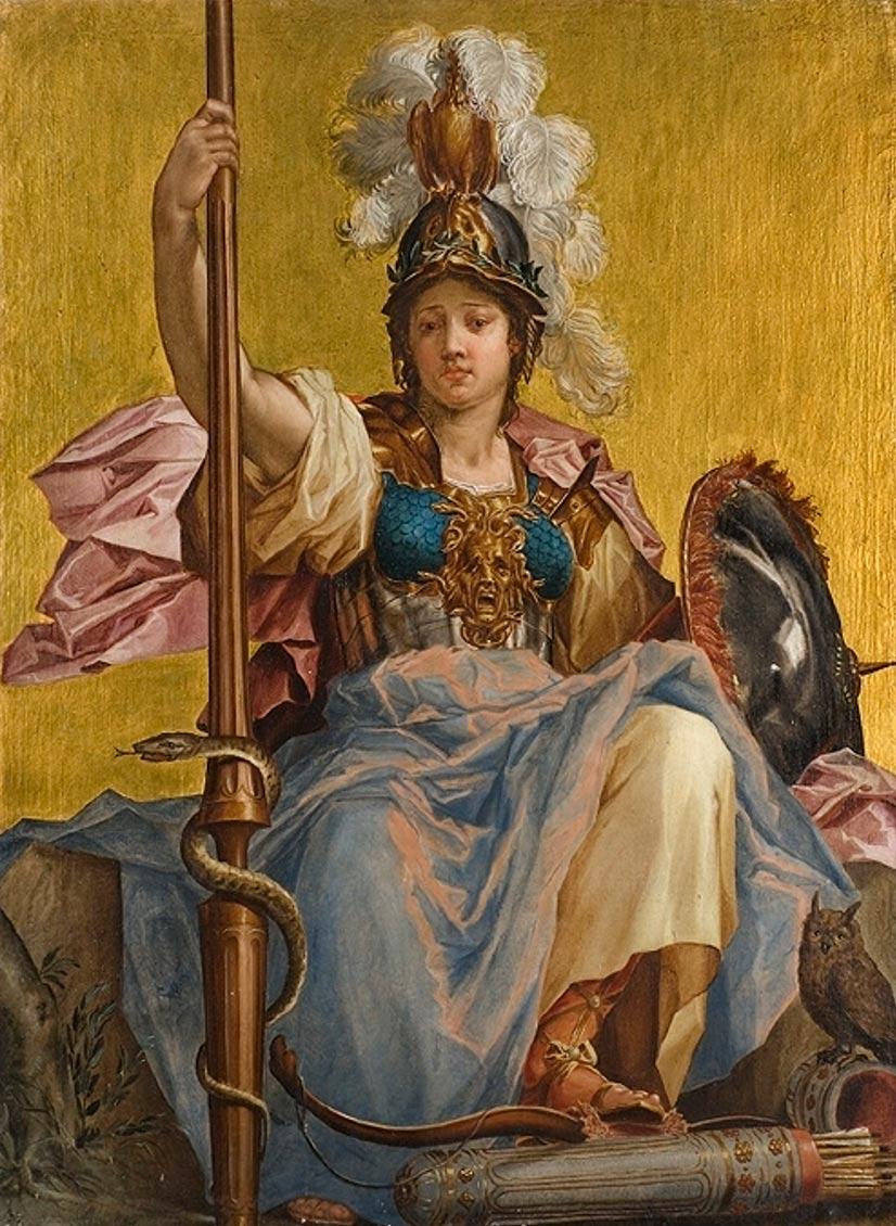 Minerva, óleo de Johan Sylvius. (Digital Museum/CC BY-SA 4.0)