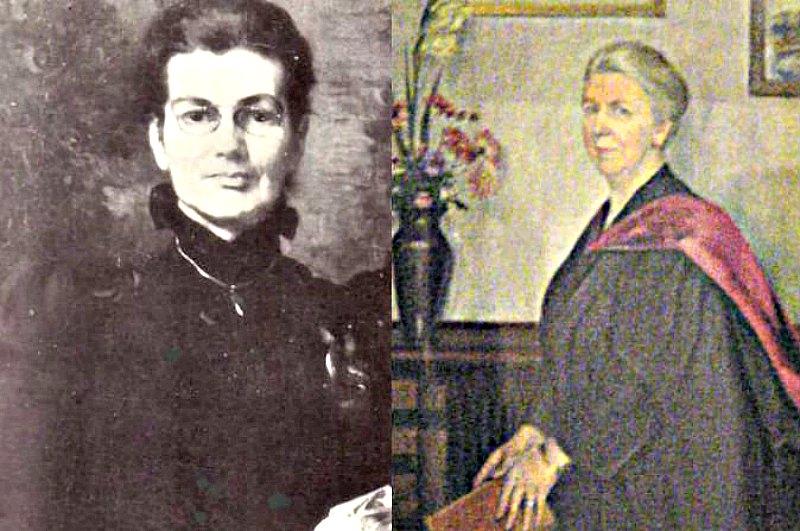 Retratos de Anne Charlotte Moberly (izquierda) y Eleanor Jourdain (derecha) (Wikimedia Commons)