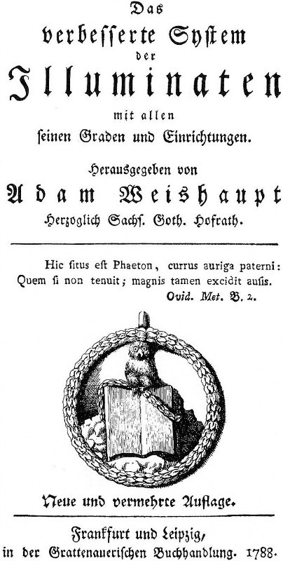 Símbolo de los Illuminati de Baviera: el mochuelo de Minerva. (Public Domain)