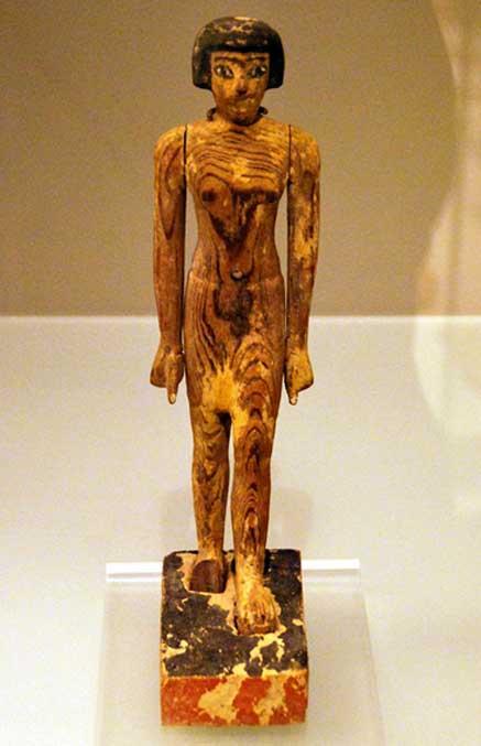 Modelo de madera de Djehutynakht encontrado en la tumba 10A (CC by SA 3.0)