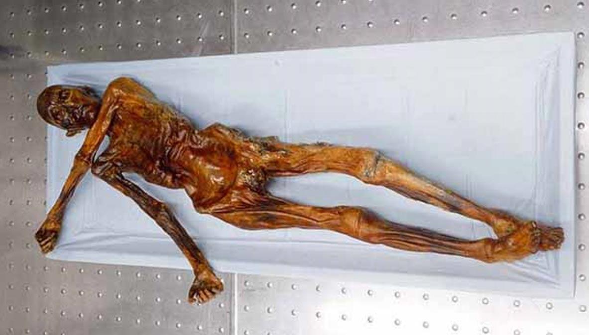 Momia del 'Hombre de Hielo'. (Crystalinks)