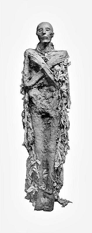 Momia del Faraón Seti I. (G. Elliot Smith/Public Domain)