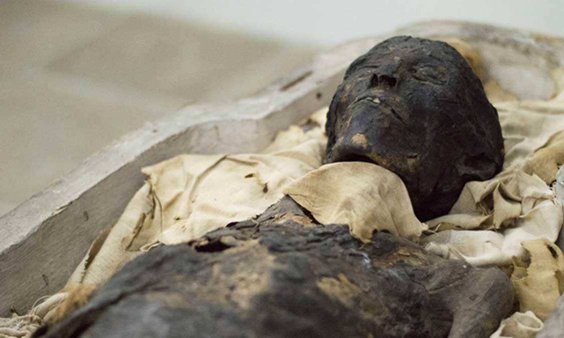 Momia de Ta-Kush. (Museo de Maidstone)