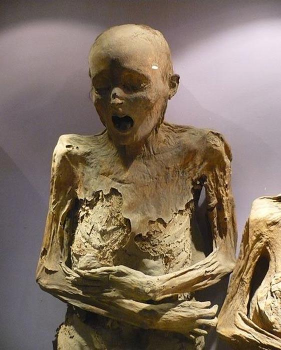 Una de las momias del Museo de las Momias de Guanajato (México). (Public Domain)