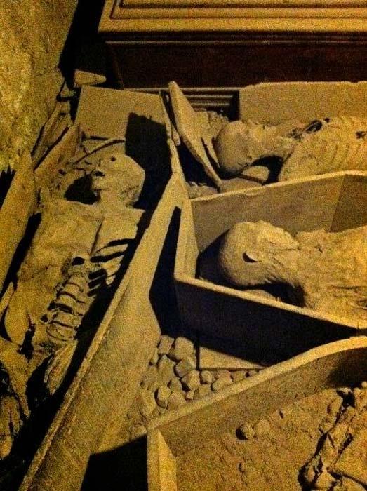 Momias en la cripta de la iglesia de San Michan. (Jennifer Boyer / CC BY 2.0)