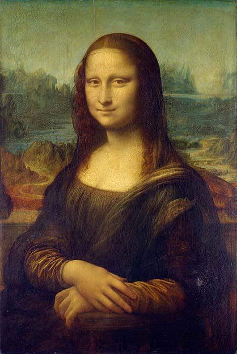 Mona Lisa, una de las obras más famosas de Leonardo. (Public Domain) Los investigadores han intentado estudiar el ADN de fragmentos de hueso que habrían pertenecido a Lisa Gherardini Del Giocondo, la mujer que se cree que posó para este famoso retrato. Desgraciadamente, no fue posible analizar el ADN de estos restos por encontrarse muy deteriorados.