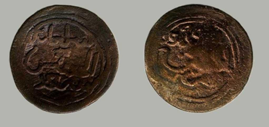 Moneda Kilwa de Sulaimán ibn al-Hasan. (CC BY-NC-ND 4.0)