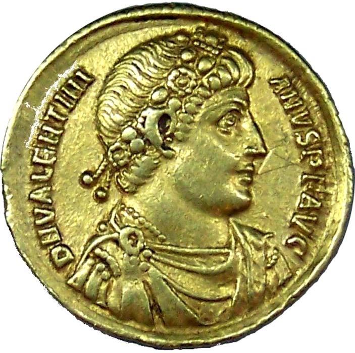 Moneda romana de oro. Esta moneda en concreto forma parte de la colección romana del Museo de Yorkshire. (CC BY SA 3.0)