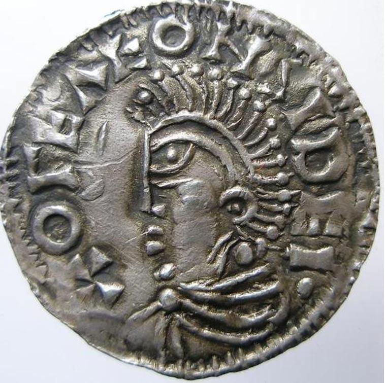 Moneda acuñada por el rey Olof en Sigtuna. (Dominio público)