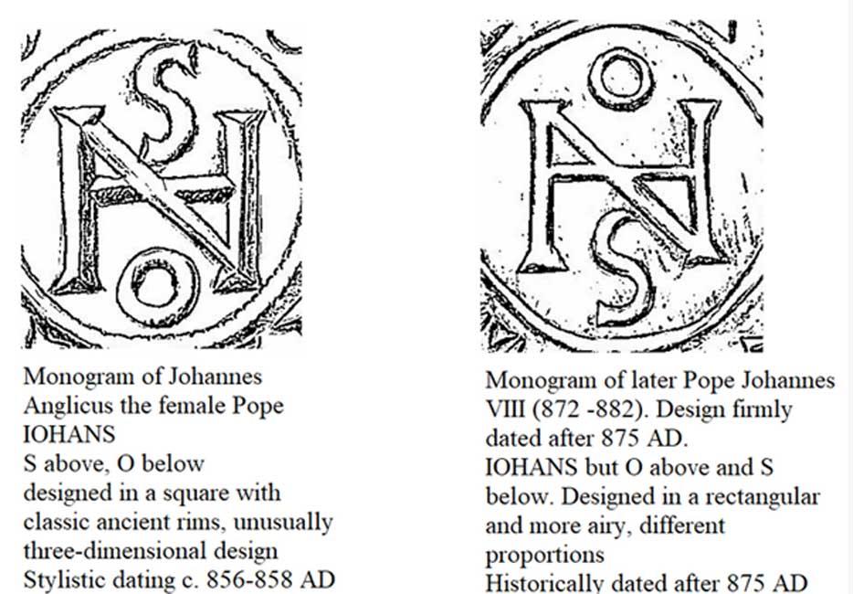 En el estudio se analizan y se datan los monogramas hallados en las monedas utilizando criterios estilísticos. (Imagen: Miguel Habicht, 2018)