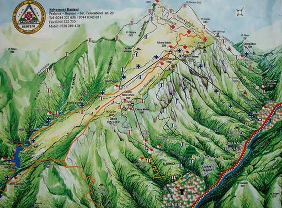 Los túneles ocultos en las entrañas de los Montes Bucegi (bibliotecapleyades.net)