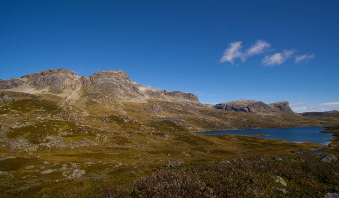 Goran Olsen se encontraba caminando por los montes de Haukeli cuando descubrió esta antigua espada vikinga (Eirik Apeland / flickr)