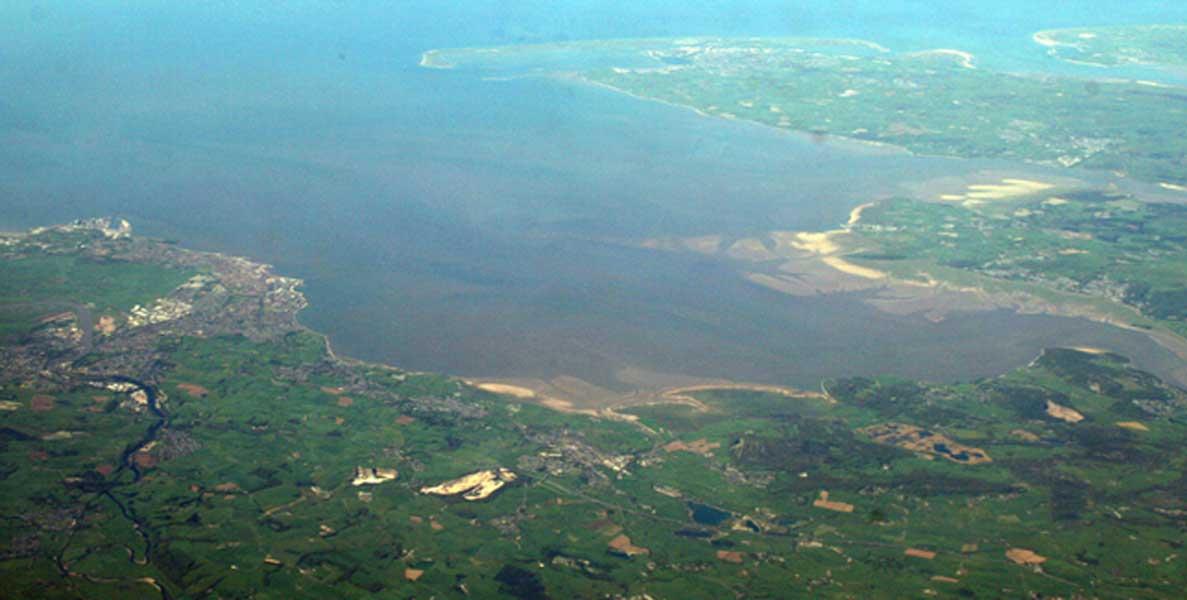 Morecambe Bay, Inglaterra (Public Domain)