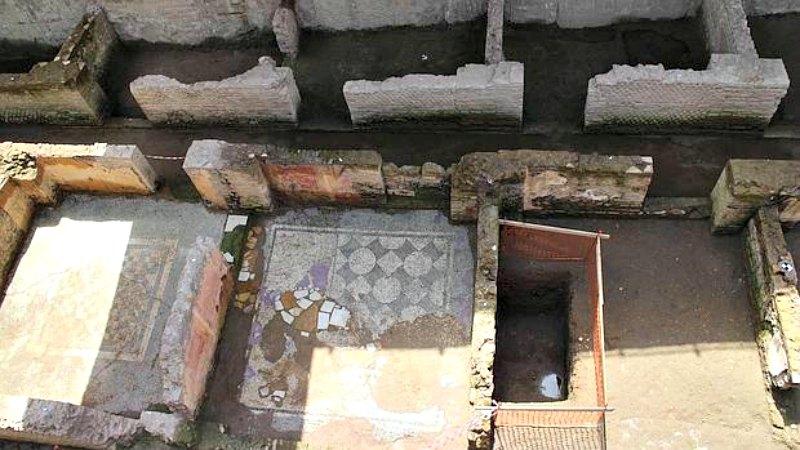 Las obras no se detendrán: se modificará el proyecto original para integrar las excavaciones arqueológicas en la futura estación del metro. (Fotografía: ABC/EFE)