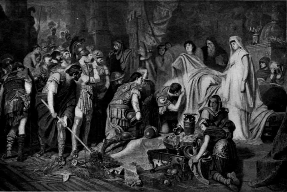 La muerte de Alejandro. (Public Domain)