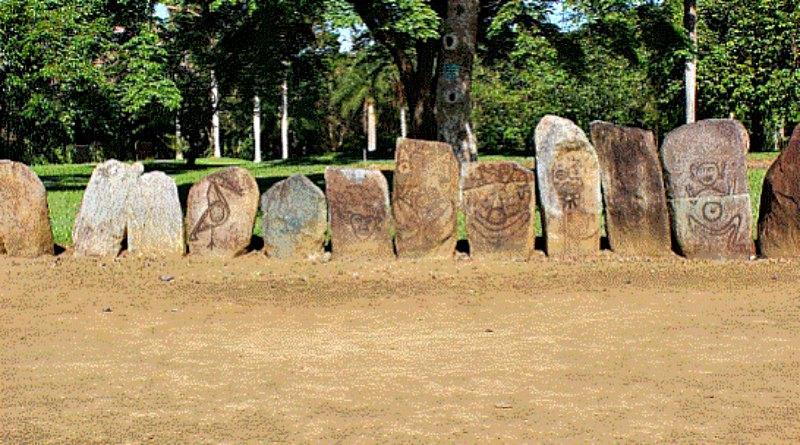 El Mural de los Solsticios de Caguana, Puerto Rico. (Ángel Rodríguez/La Gran Época)