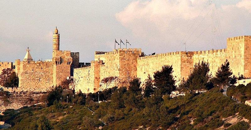 Murallas de Jerusalén. (Public Domain)