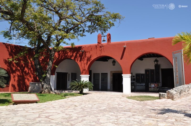 El Museo de Arquitectura Maya Baluarte de la Soledad de Campeche donde, a partir de ahora, será exhibida la famosa máscara maya de jade. (Fotografía: Centro INAH Campeche).