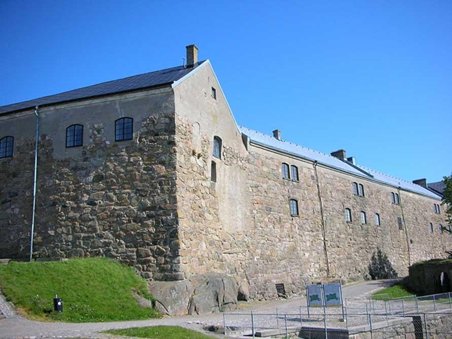 El Museo de Historia Cultural de Halland (Suecia) se encuentra en este edificio de la fortaleza de Varberg. (Public Domain)