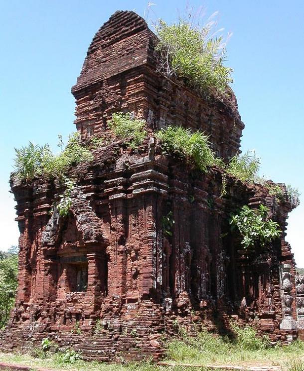 Templo de My Son, en la provincia de Quang Nam, Vietnam (Thomas Hirsch/Wikimedia Commons)