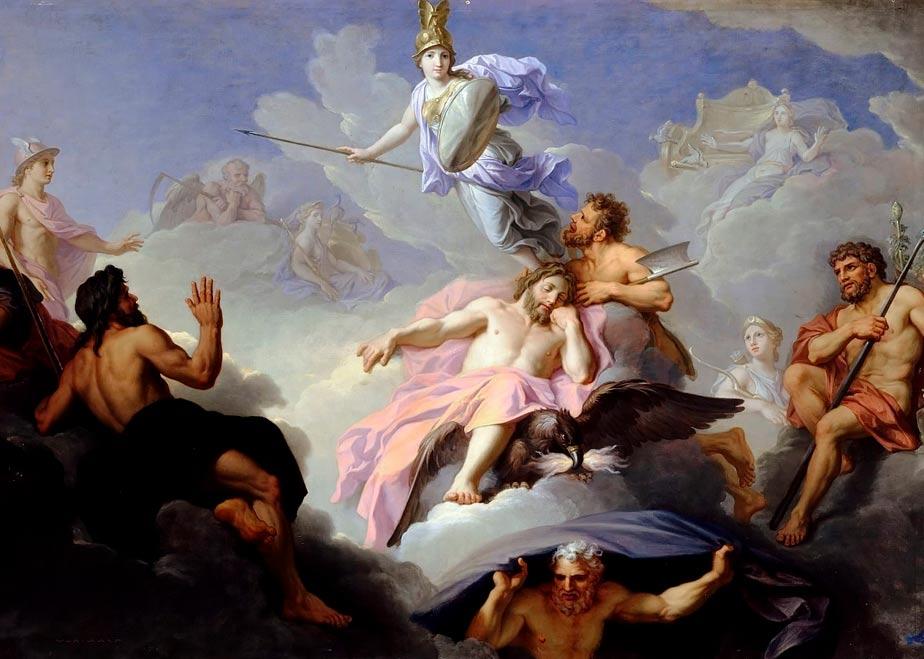 El nacimiento de Minerva. (artshop77/Dominio público)