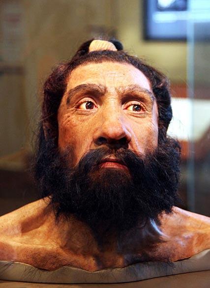 Modelo del busto de un adulto Neandertal expuesto en la Sala de los Orígenes del Hombre del Museo de Historia Natural Smithsoniano de Washington, D. C. (Estados Unidos). (CC BY SA 2.0)