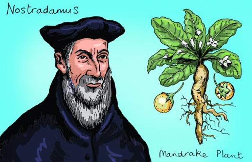 De Nostradamus, menos conocida que su faceta como profeta son sus conocimientos como farmacéutico, en un sentido amplio del término (pharmaceutical-journal)