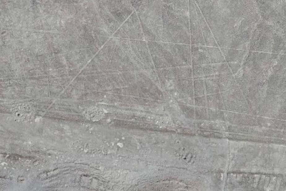 Las líneas de Nazca recientemente descubiertas en una captura realizada por un dron. (Luis Jaime Castillo, Proyecto Palpa Nazca) Los arqueólogos creen que estas líneas fueron trazadas en diferentes épocas y con diferentes propósitos.