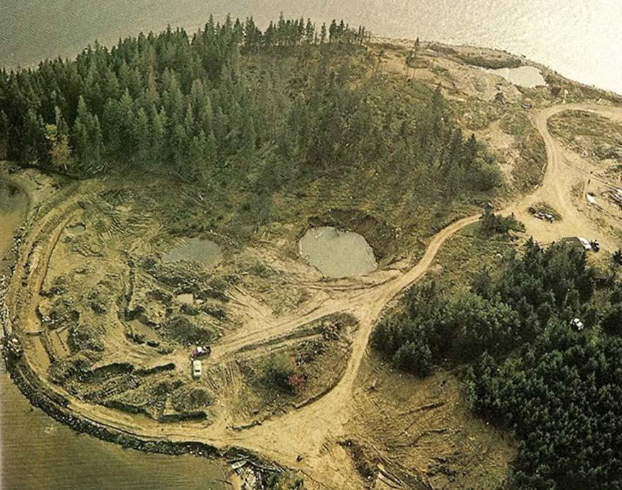 Oak Island, Nueva Escocia, Canadá. (Crystalinks)
