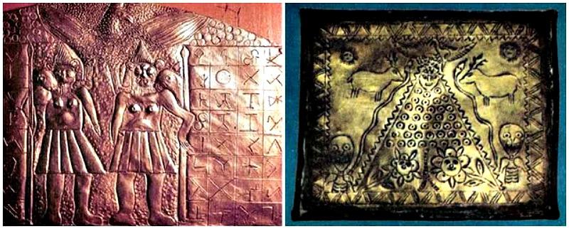 Estos dos objetos también formaban parte de la colección del sacerdote salesiano. (Fotografía: Historia Enigmática).