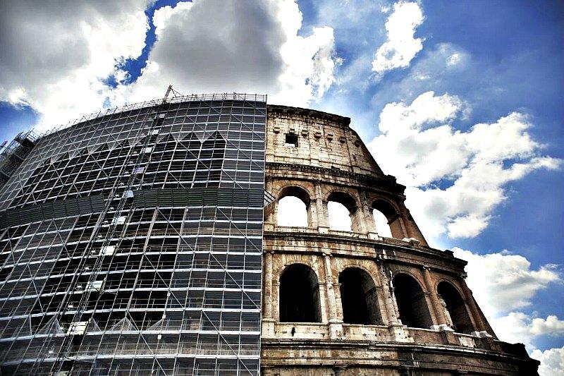 La primera fase de restauración del Coliseo romano se prolongó durante tres años. (Fotografía: Cinco Días)