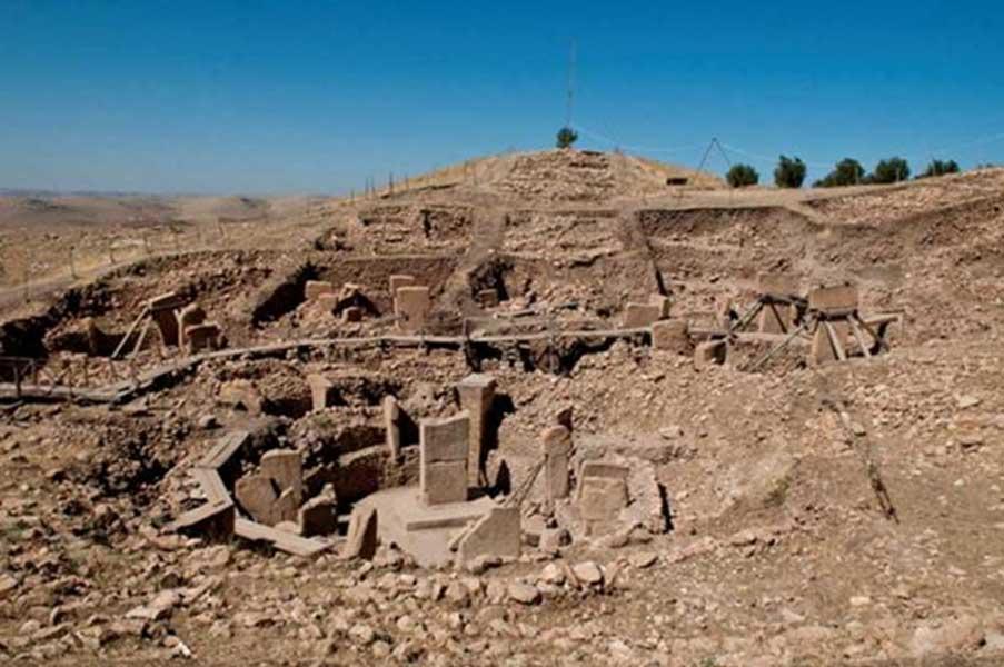 Toda la zona fue rellenada con piedras y tierra (CC BY-SA 3.0)