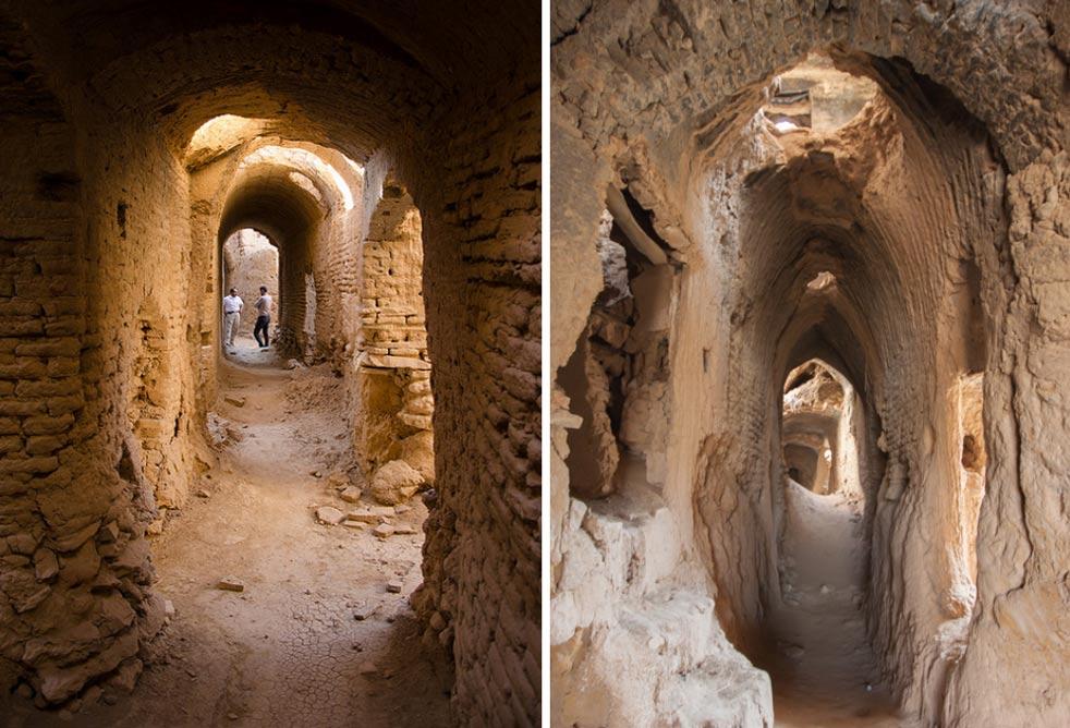 La Ciudad Vieja es un laberinto de callejuelas, túneles y pasadizos. Izquierda: Matt Werner / Flickr. Derecha: Jurriaan Persyn / Flickr.