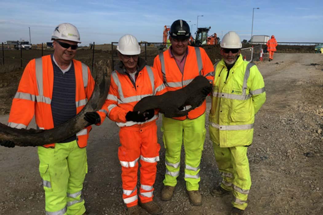 Los operarios de las obras de mejora de la carretera A14 han descubierto lo que se cree que es la evidencia más antigua de cerveza elaborada en Gran Bretaña, datando de hace más de 2.000 años. (GOV.UK/Open Government License v1.0)