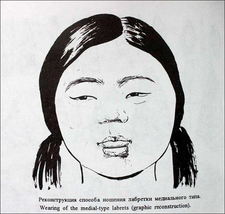 Según los arqueólogos, estos ornamentos faciales, dos de los cuales se encontraron este mismo verano en el yacimiento ártico ya mencionado, eran comunes entre los ancestros de los esquimales, aleutas e indios norteamericanos, pueblos que habitaban todos ellos regiones más occidentales.
