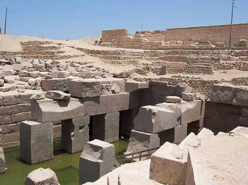 El Osirión fue excavado por primera vez por Margaret Murray. (CC BY-SA 2.5)