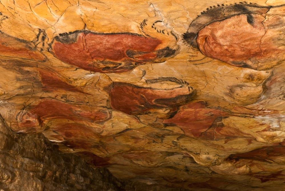 Las pinturas de las cuevas españolas de Altamira son una manifestación artística de la cultura Gravetiense (Wikimedia Commons)