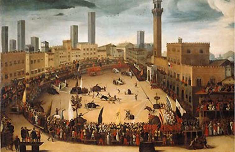 Palio de Siena (Public Domain)