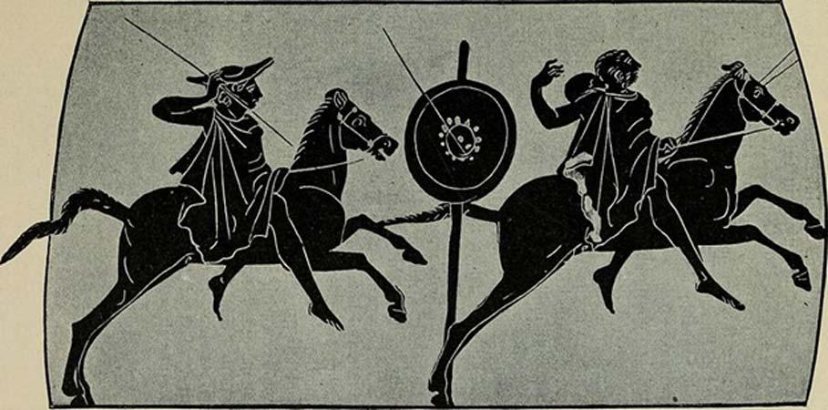 Durante las Panateneas se competía en varios tipos de deportes atléticos griegos. (SteinsplitterBot /Dominio público)