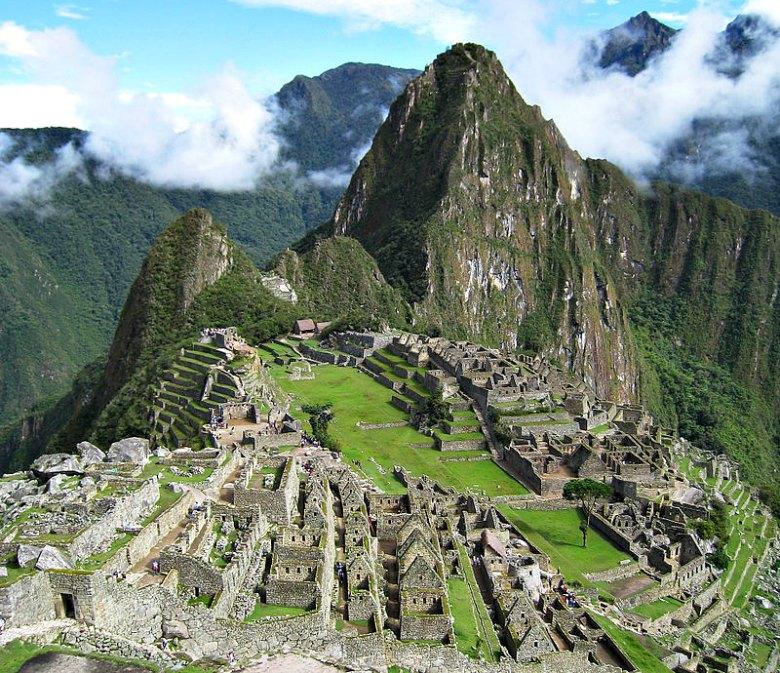 Vista parcial del impresionante conjunto de Machu Picchu. (icelight/CC BY-SA 2.0)