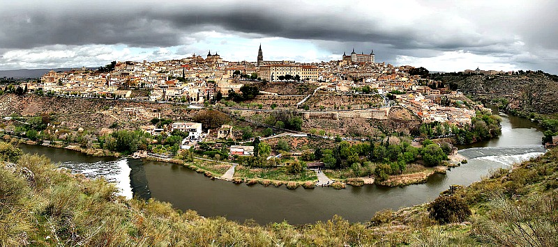 Vista panorámica del centro histórico de Toledo. (Dan Vaquerizo Molina/CC BY-SA 3.0).