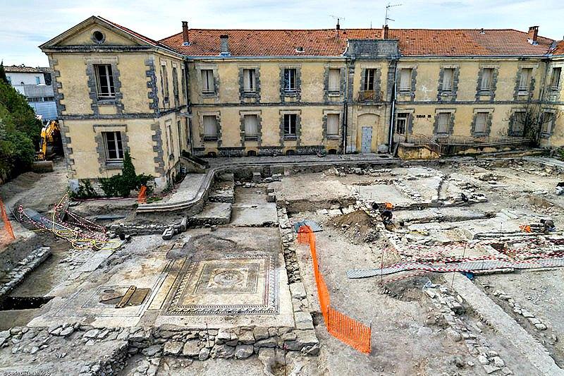 Hasta el momento, los expertos han excavado un área de 4.500 metros cuadrados. (Fotografía: RT/inrap.fr)