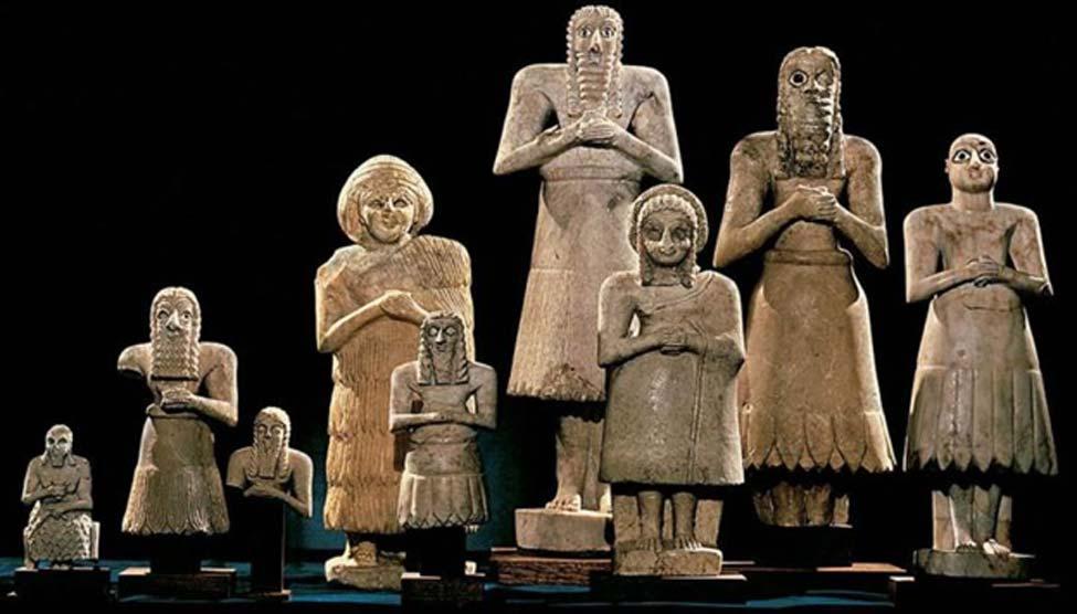 El panteón sumerio. (Fredsvenn)
