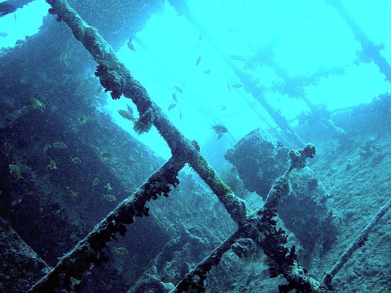 Pecio del SS Thistlegorm, uno de los mejor conservados, hundido en el Mar Rojo. (Woodym555/Public Domain)