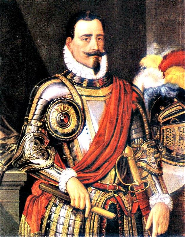 Retrato de Pedro de Valdivia, obra de Federico de Madrazo (1815-1894). Biblioteca Nacional de Chile. (Public Domain)